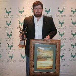 SANParks Kudu Awards Winner John Lucas